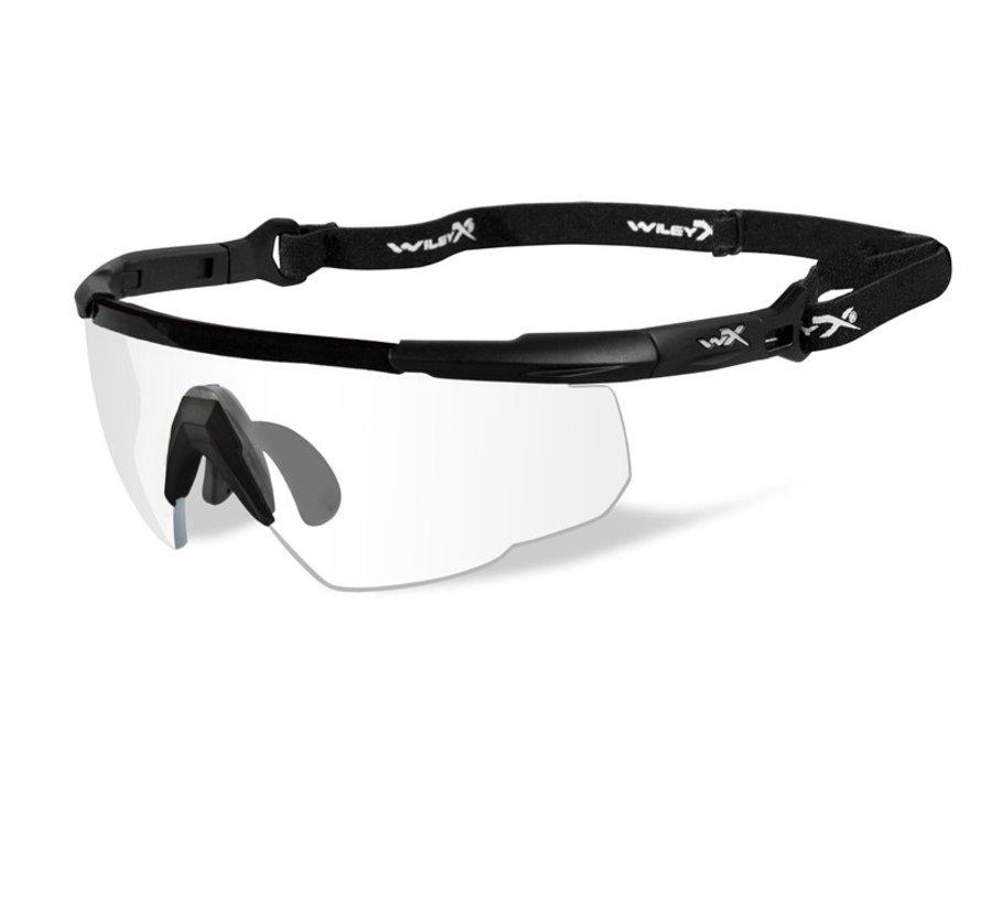 Saber Advanced Clear (Black Frame)