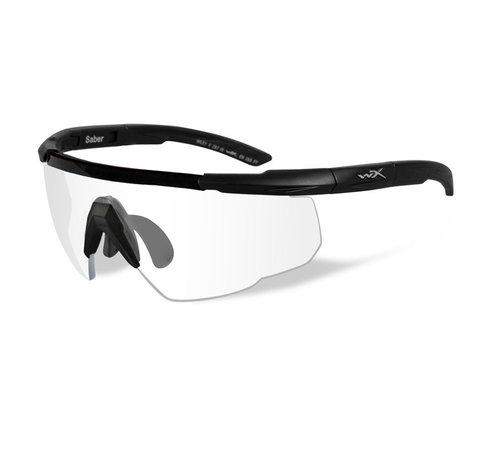 Wiley X Saber Advanced Clear (Black Frame)