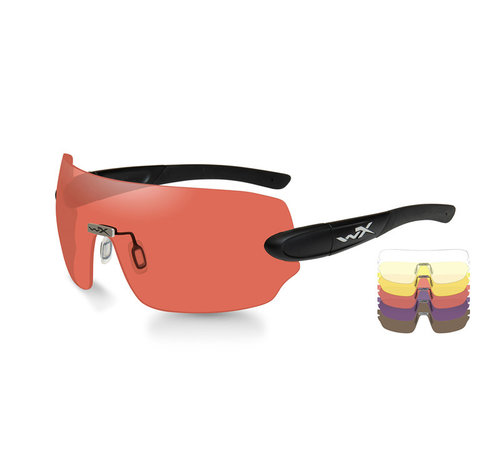 Wiley X Detection 5 Lens Kit (Black Frame)