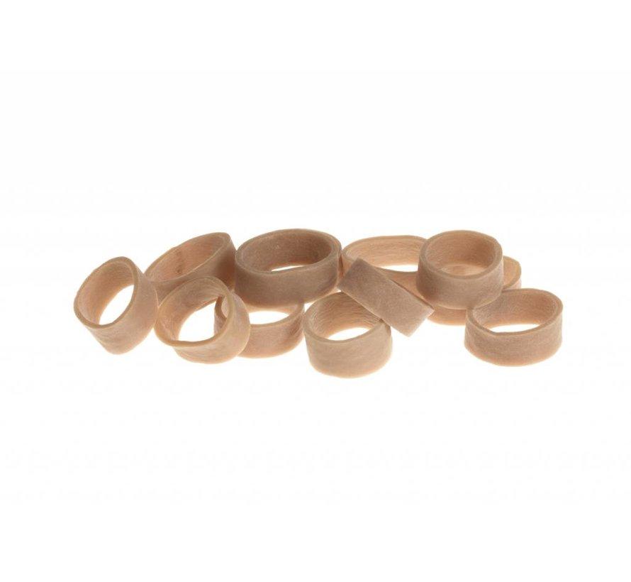 Micro Rubber Bands 12pcs