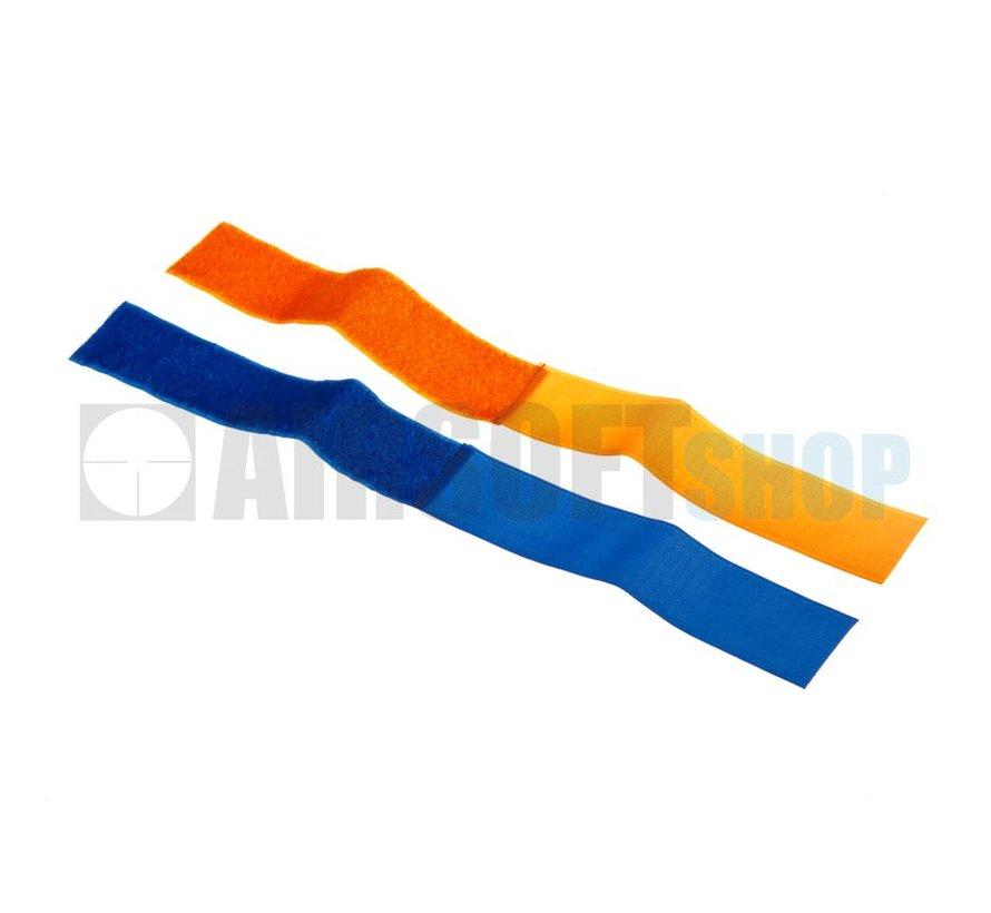 Team Strap Set (Blue + Orange)