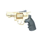 "ASG Dan Wesson 2.5"" Revolver Gold (1.4 Joule)"