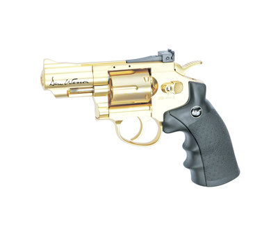 """ASG Dan Wesson 2.5"""" Revolver Gold (1.4 Joule)"""