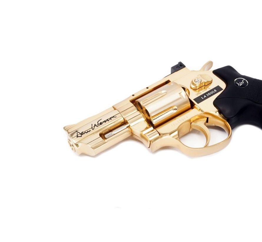 "Dan Wesson 2.5"" Revolver Gold (1.4 Joule)"