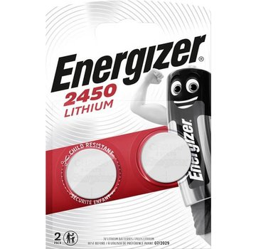 Energizer CR2450 Lithium 3V Batterij (2Pcs)