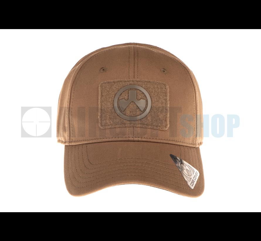 Velcro Patch Core Cover Cap (Khaki)