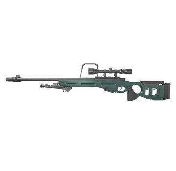 Specna Arms SV-98 CORE Sniper Rifle KIT Scope + Bipod  (Russian Green)