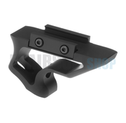 Metal CNC Picatinny Short Angled Grip (Black)