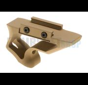 Metal CNC Picatinny Short Angled Grip (Dark Earth)