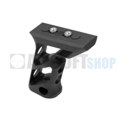 Metal CNC Keymod Long Angled Grip  (Black)