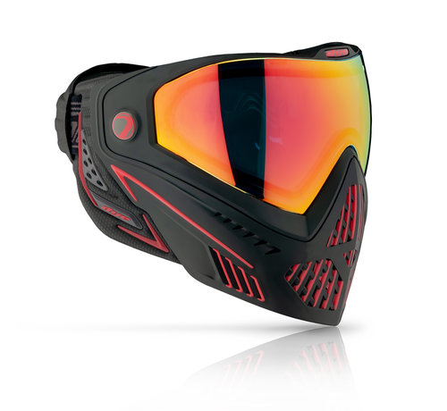 Dye Goggle i5 Fire / Black Red 2.0