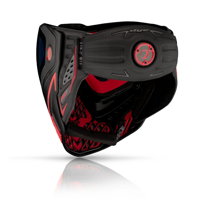 Goggle i5 Fire / Black Red 2.0