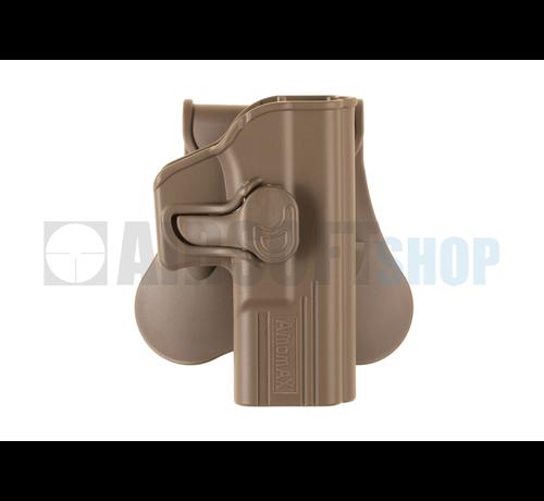 Amomax Paddle Holster for G19 / ICS BLE-XAE (Dark Earth)