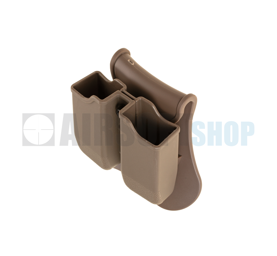 Double Mag Pouch for WE / KJW / TM 17/19 (Dark Earth)