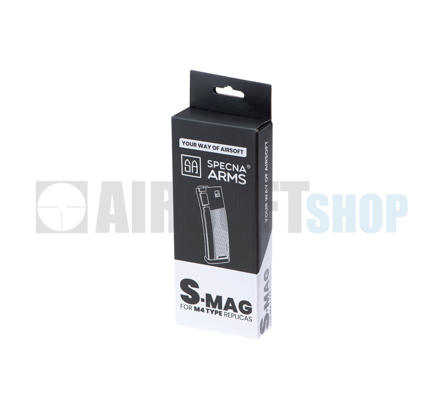 M4/M16 Polymer S-Mag Midcap 120rds (Black)
