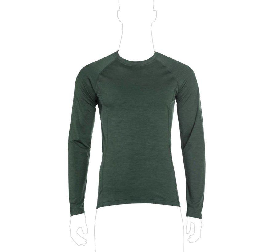 Merino Shirt Long Sleeve (Ranger Green)