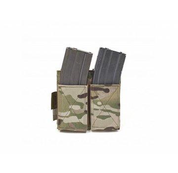 Warrior Double Elastic Mag Pouch (Multicam)