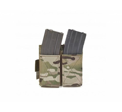Warrior Double Elastic Mag Pouch (Multicam)