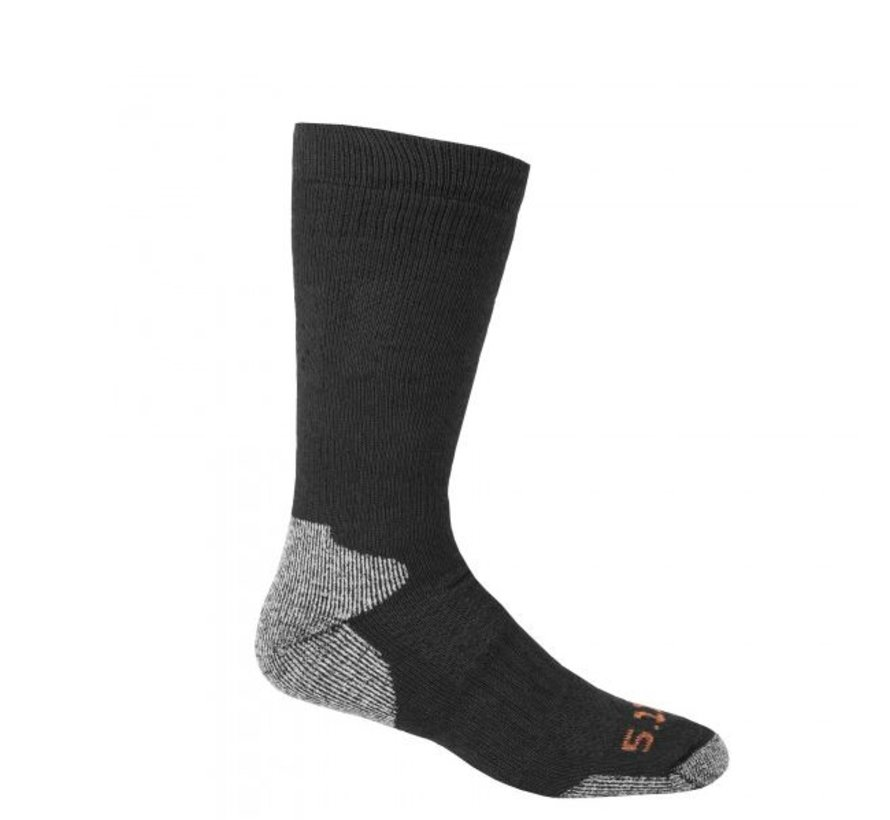 Cold Weather Crew Sock (Black)