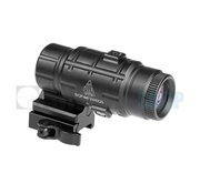 Leapers 3x Flip-to-Side QD Magnifier Adjustable TS (Black)