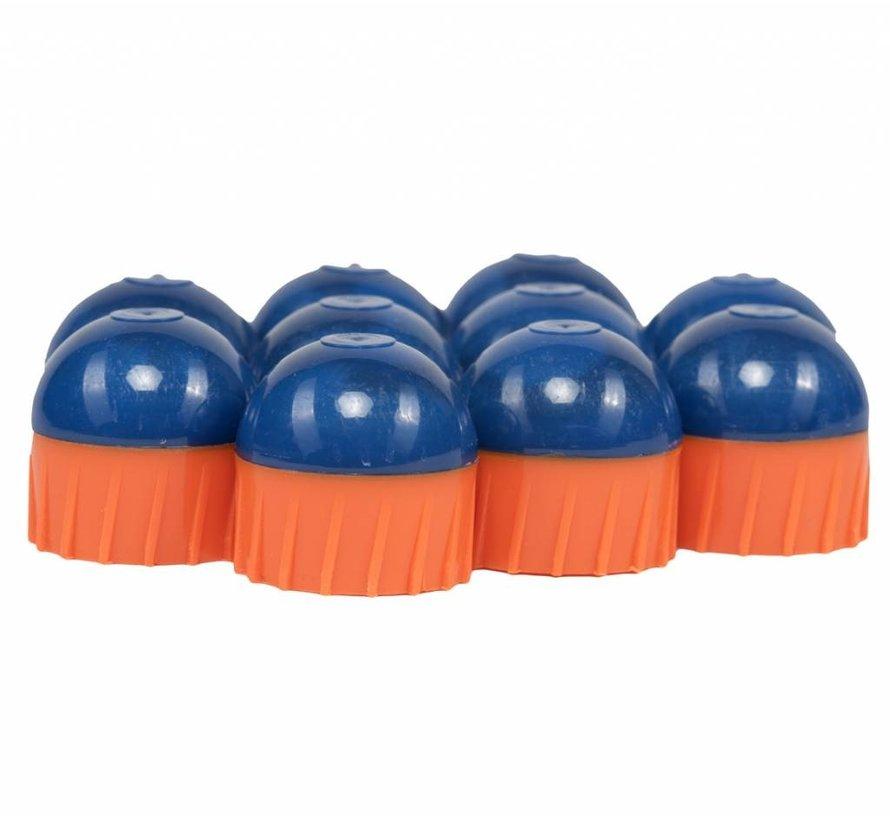 250 Paintball Rounds (Blue / Orange / Orange)