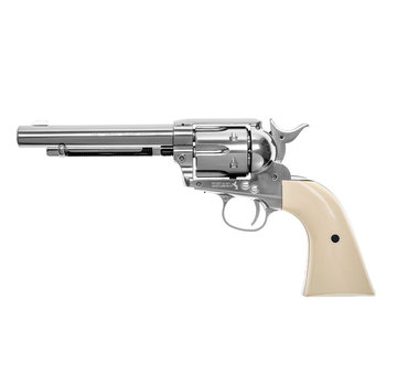 "Colt 5.5"" Colt SAA Revolver 4.5mm Pellet Airgun (Nickeled)"