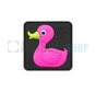 Tactical Rubber Duck PVC Patch (Pink)