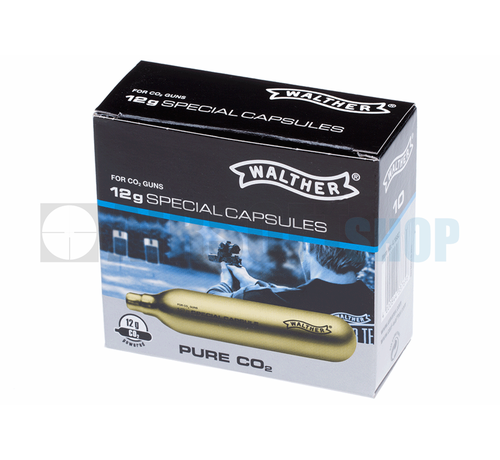 Walther CO2 Capsules 12g Pack (10pcs)