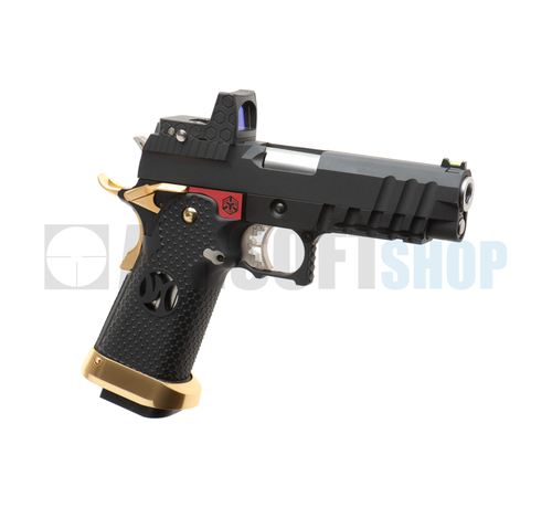 Armorer Works HX2601 + Red Dot (Black / Red / Gold)