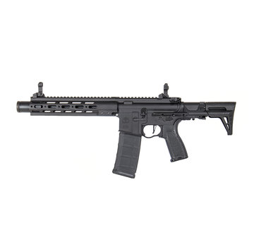 """Evolution Airsoft Recon SMR MK1 PDW 10"""" Amplified Metal (Black)"""