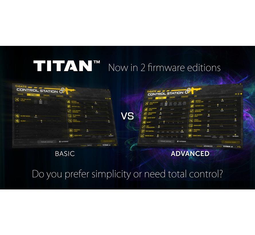 NEXT-GEN TITAN V2 NGRS Advanced Set (Front Wired)