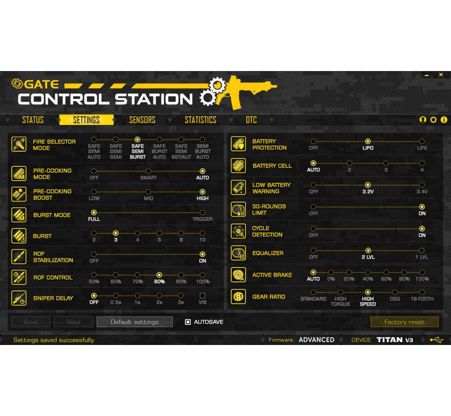 TITAN V3 Advanced Set
