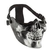 Sport Attitude Skull Half Face Mask (Black)