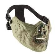 Sport Attitude Zombie Half Face Mask (Tan/Green)
