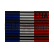 Claw Gear Dual IR Flag Patch FRA (France) (Color)