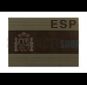 Claw Gear Dual IR Flag Patch ESP (Spain) (Desert)