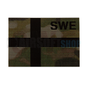 Claw Gear Dual IR Flag Patch SWE (Sweden) (Multicam)