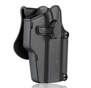 Amomax Universal Paddle Holster (Black)