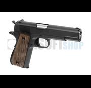 WE M1911 Full Metal V3 GBB (Black)