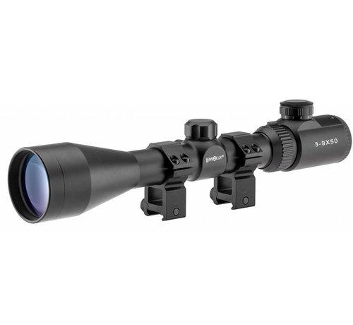 Lensolux 3-9 x 50E Airgun Scope (Dovetail Mount)