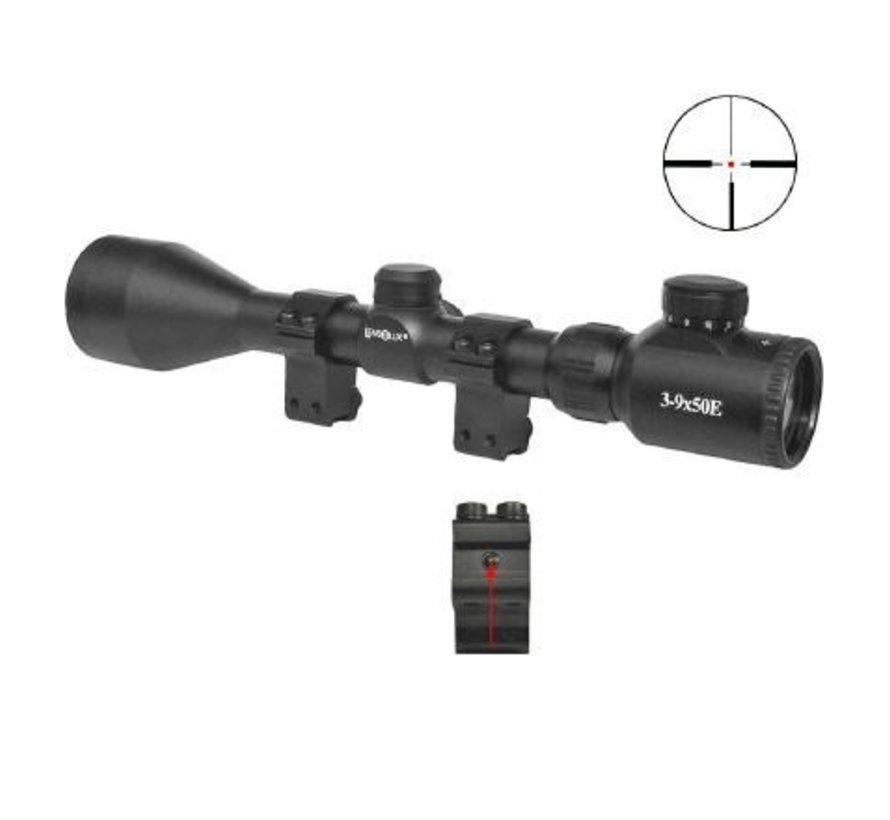 3-9 x 50E Airgun Scope (Dovetail Mount)