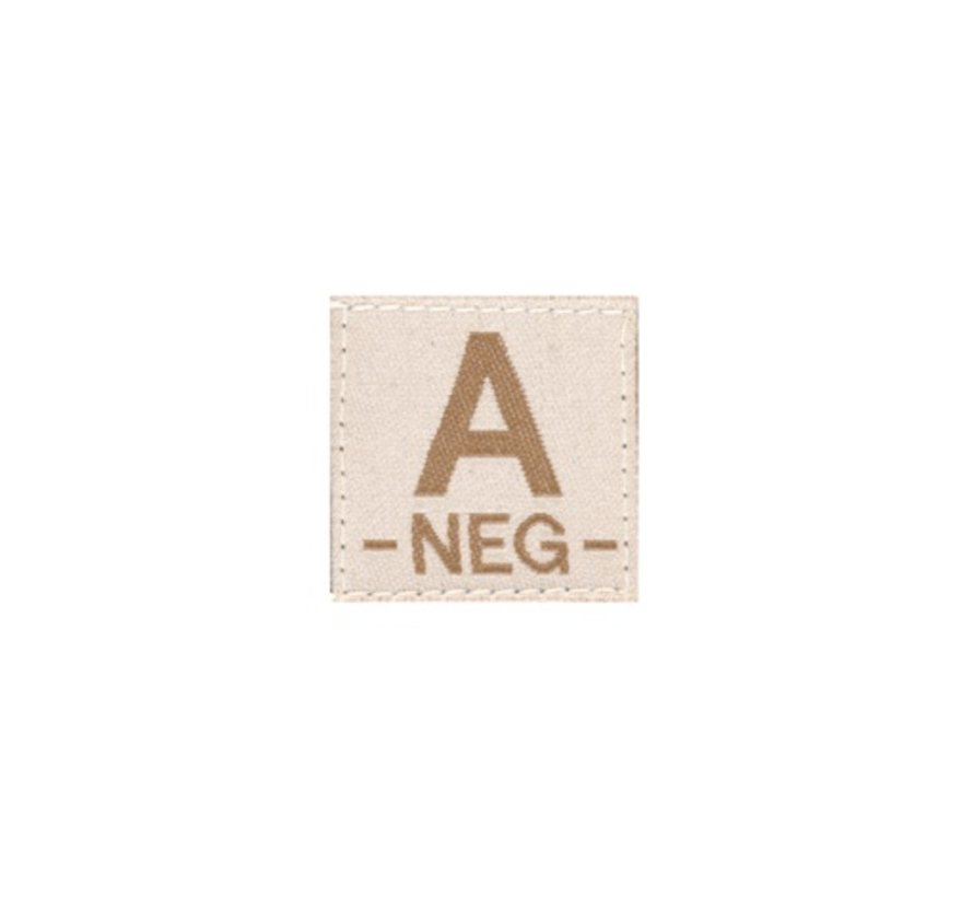 A NEG Bloodgroup Patch (Desert)
