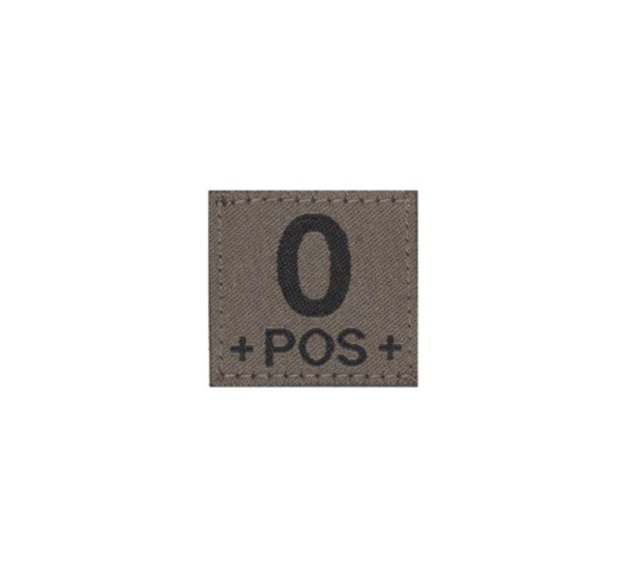 O POS Bloodgroup Patch (RAL7013)