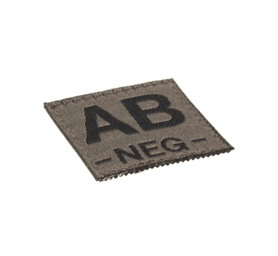 AB NEG Bloodgroup Patch (RAL7013)