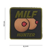 101 Inc MILF Hunter PVC Patch (Olive Drab)