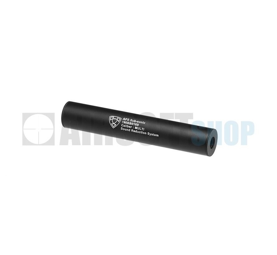 190mm Silencer CCW (Black)