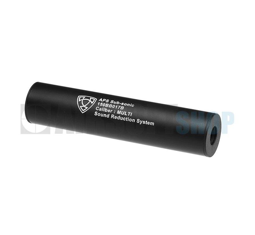150mm Silencer CCW (Black)