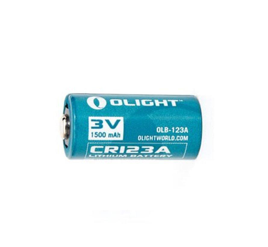 CR123 Lithium 3V Batterij