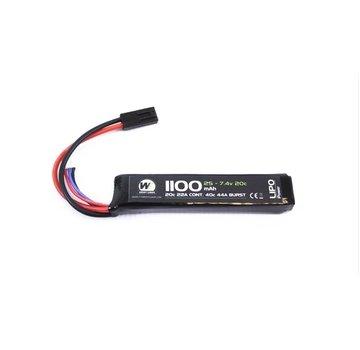 NUPROL LiPo 7.4V 1100mAh 20C Stick Type