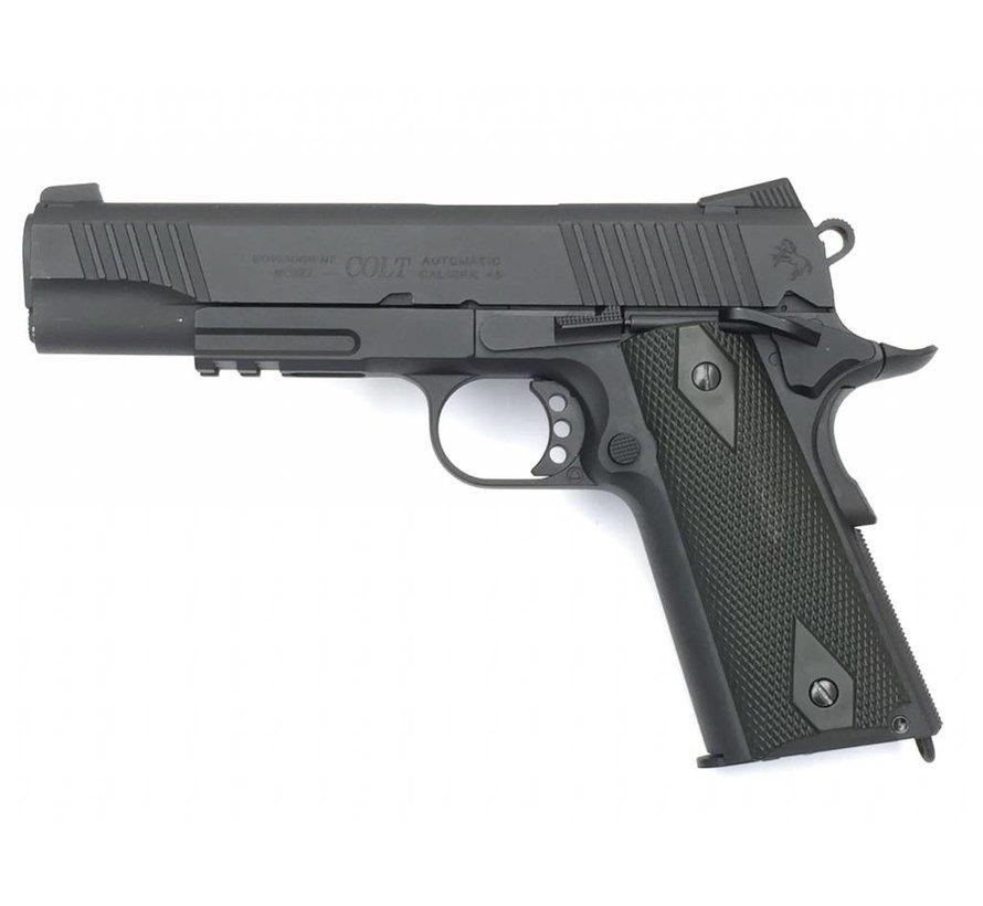Colt 1911 Rail Gun Blackened CO2